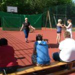 Foto Bogenschießen in einer Förderschule