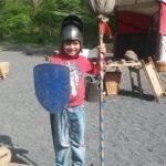 kleiner Ritter mit Stumpfe