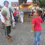 mittelalterliches Spiel Stumpfe Stumpfe in Uebigau